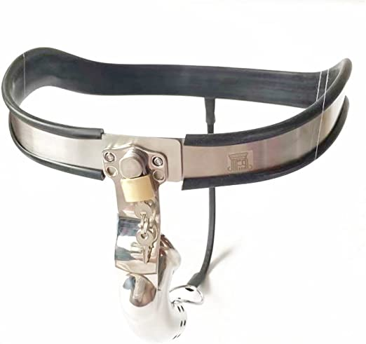 New Female Stainless Steel Chastity Belt Device Underwear Invisible Thong Pants