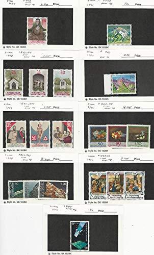 Liechtenstein, Postage Stamp, 863//955 Mint NH, 1987-91, JFZ ()