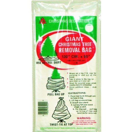 Holiday Trims Tree Removal Bag (1 Bag), 144