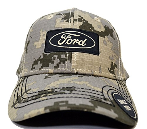 Ford Desert Camo Baseball Hat Est 1903 One Size Fits All