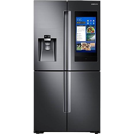 Samsung - Refrigerador de puerta francesa flexible de 4 puertas ...