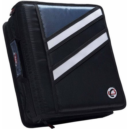 Case-It 2-in-1 Z-Binder Black