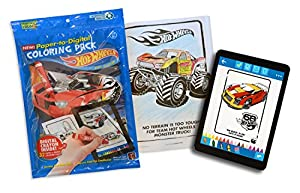 Hot Wheels Coloring Book Pack
