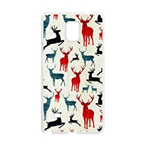 Canting_Good,Deer, Custom Case for SamSung Galaxy Note4 (Laser Technology)