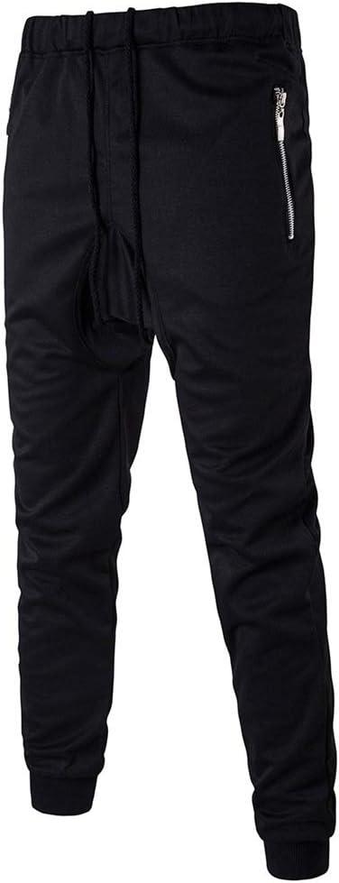 Para hombre del basculador Pantalones Pantalones deportivos para ...