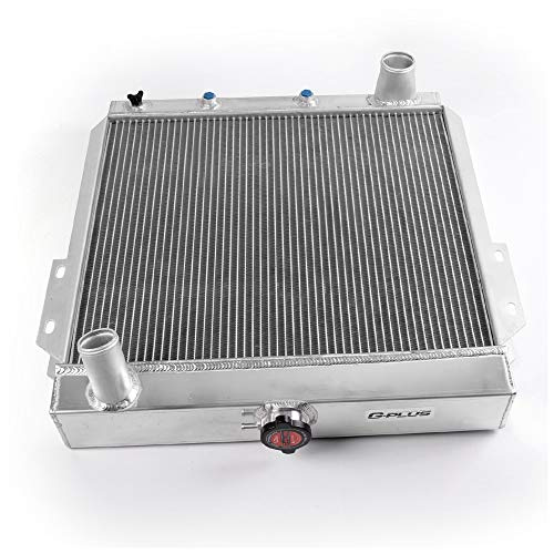 Performance Full Aluminum Radiator FOR 1955-1957 1956 57 FORD THUNDERBIRD Y-BLOCK V8 Silver