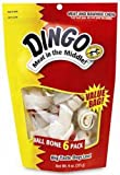 Dingo Bone Small 6-Pack Value Bag, 9-Ounce, My Pet Supplies