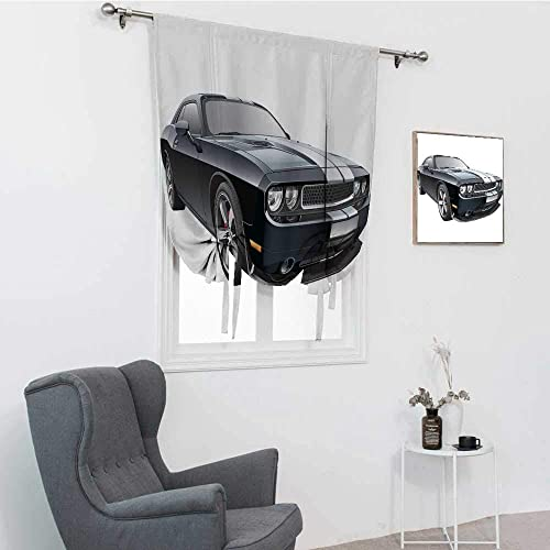 GugeABC Cars Curtains Blackout