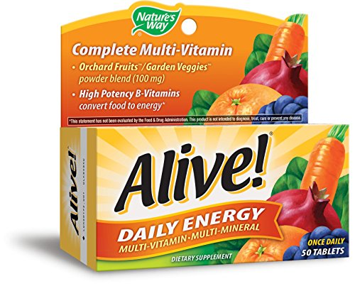 Natures Way Alive Daily Energy