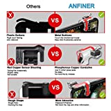 Anfiner Mobile Controller/Gaming Triggers/Phone Buttons Compatible with Fortnite/PUBG/Battle Royale/Knives Out/Free Fire FPS Mobile Games with Sharpshooter Sensitive Accessories 4Triggers