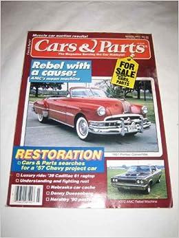 Cars & Parts V  34 #3 Mar  1991 1951 Pontiac Convertible: No