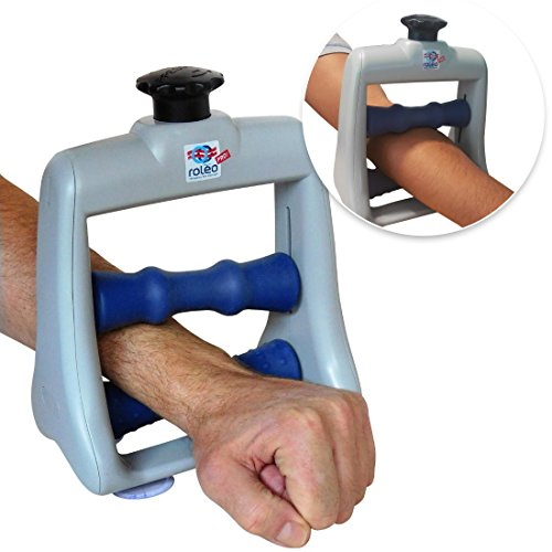 Roleo Hand Massager for Arthritis, Deep Tissue Massager for Carpal Tunnel Relief - Forearm Massager for Hand Therapy with Trigger Point Foam Roller - Finger Massager and Wrist Roller - Arm Massager