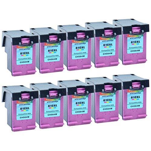 NineLeaf 10 Pack Remanufactured Tri-Color Ink Cartridge R...