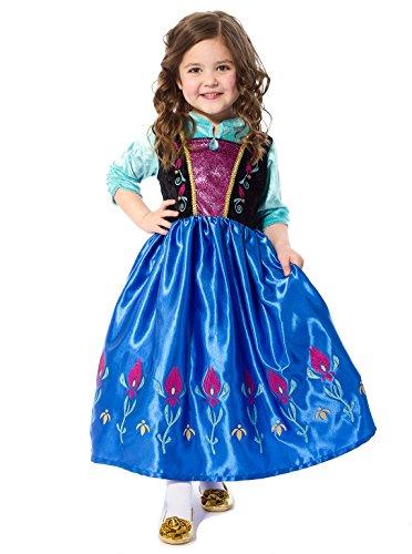 Little Adventures Satin Scandinavian Princess Girls Costume - X-Large (7-9 Yrs)