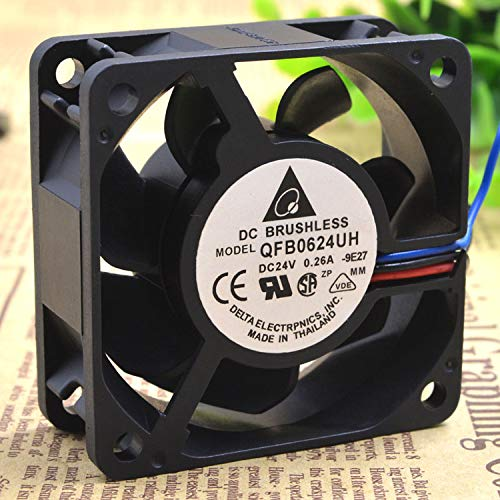 REFIT 6025 24 v 0.26 A Third line Dual Cooling Fan 6 cm QFR0624UH Large air Volume