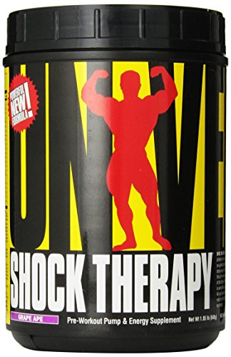 Universal Nutrition Shock Therapy Pre-Workout Pump & Energy Supplement, with BCAA complex, Creatine, and Electrolytes