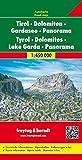 Tirol y Dolomitas en panorama. Escala 1:450.000. Freytag & Bernt.: Map (Auto karte)