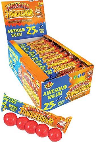 (Fireball Jawbreakers Bubblegum Full Box of 30 Packs)