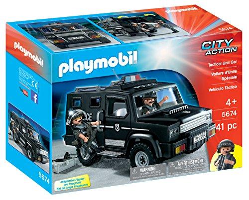 (PLAYMOBIL® Tactical Unit Car Playset)
