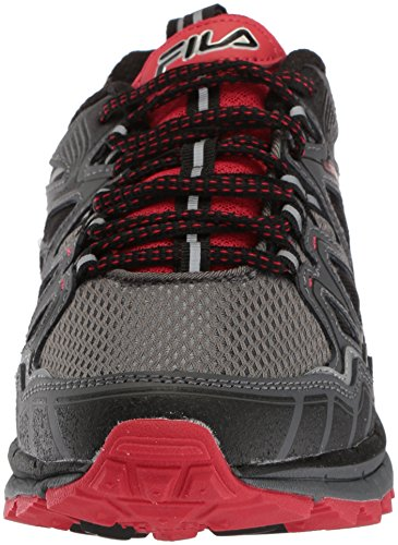 Fila Men's Memory TKO Tr 5.0 Trail Running Shoe Castlerock/Dark Shadow/Fila Red affordable cheap online for sale online store d89RCC