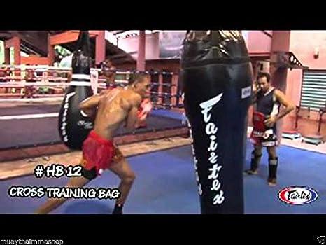 Fairtex Bag Bowling HB10 Muay Thai Training MMA Kick Boxing Punch Un-filled