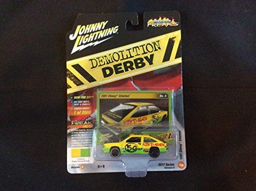 Johnny Lightning 1:64 Street Freaks Ver B Demolition Derby 1981 Chevy Citation