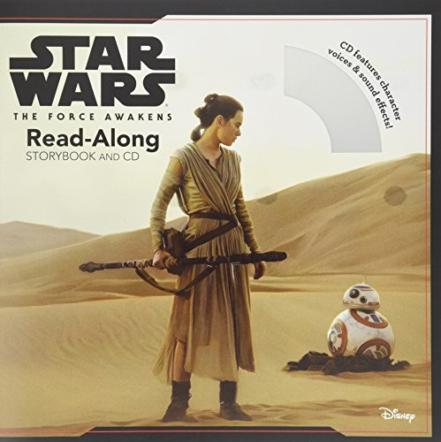 Star Wars The Force Awakens: Read-Along Storybook and CD (Star Wars Read Along Cassette)