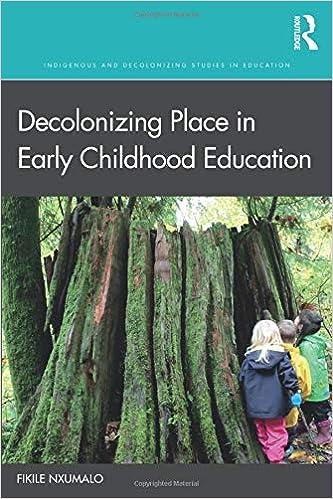 cover image, decolonizing place