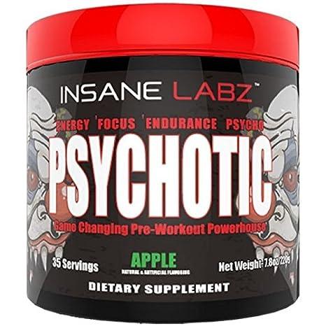 Insane Labz Psychotic Apple Flavor 220gm Amazonin Health
