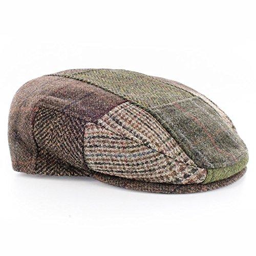 91dbda96d4a8b Mucros Weavers Men's Irish Made Trinity Patch Cap by (S, Patch Fabric ...