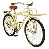Hollandia Holiday M1 Cruiser Bike, 26 inch Wheels, 18 inch Frame, Men's Bike, Cream