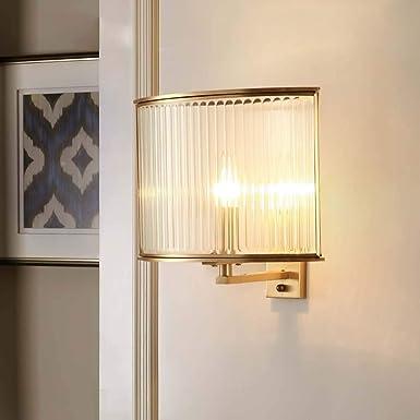 KUVV brillante Toda La Lámpara De Pared De Cobre, Sala De Estar ...
