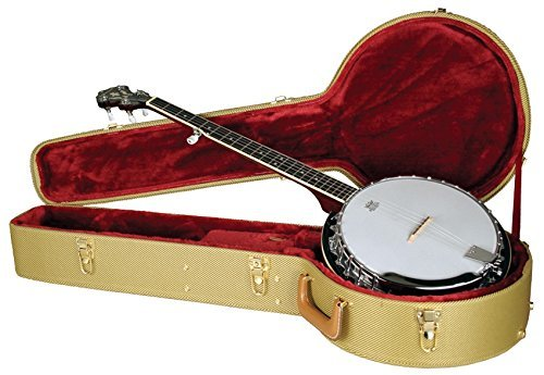 Arched Top Tweed (Guardian CG-035-J Archtop Tweed Case for Banjo)