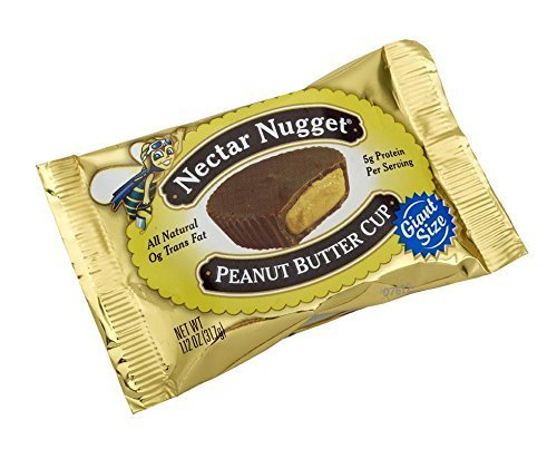 Natural Nectar Nectar Nugget Peanut Butter Cup, 1.12-Ounce Packages (Pack of 24) by Natural Nectar