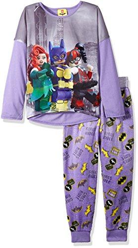 LEGO Batman Little Girls' Lego Batgirl 2-Pc Pajama Set, Long Sleeve with Pant at Gotham City Store