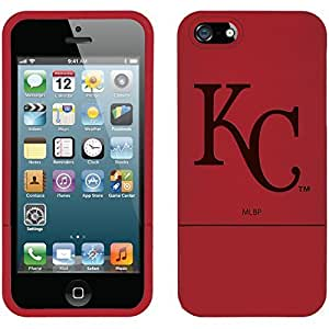 fahion caseiphone 4s Red Slider Case with Kansas City Royals KC in White Design
