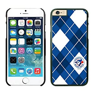 Toronto Blue Jays Cool Custom Design iPhone 6 plus 5.5 Inch TPU Phone Case Black