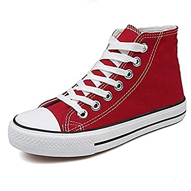 OPUSS Classic Canvas Shoes for Men and Women,Lace Up Casual Sneakers