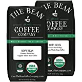 The Bean Coffee Company Kopi Bean Coffee (Sumatra Mandheling), Organic Whole Bean, 16-Ounce Bags (Pack of 2)