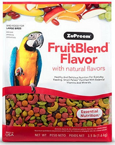 ZuPreem FruitBlend - Large Birds, Size 12 lb
