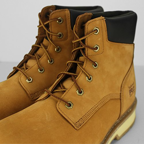 Cap Marron Timberland Beige Up Mens Lace Boot Leather Toe Work Traditional Safety xZvYqZwrP