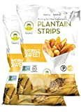 Cheap Artisan Tropic Plantain Strips Naturally Sweet – Your Tasty and Healthy Snack Alternative – Paleo, Gluten Free, Vegan, Non-GMO – Made With Sustainable Palm Oil and No Added Sugar 4.5 Oz (2 Pack)