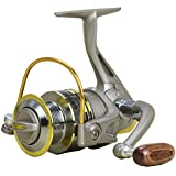 E Support 8bb Ball Bearing Saltwater Left/Right Fish Fishing Spinning Reel GS7000