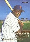 1997 Fleer Baseball #512 David Ortiz Rookie Card in a Screwdown Protective Display Case!