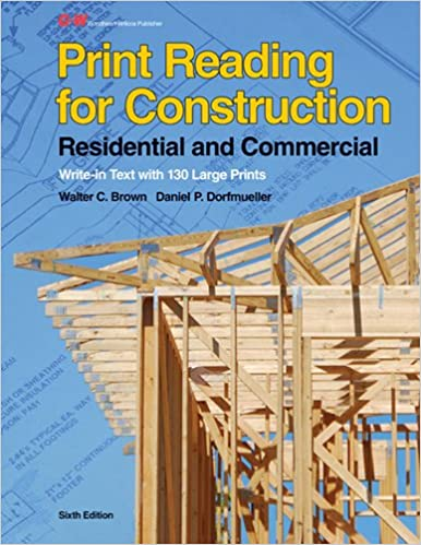 Print reading for construction residential and commercial walter c print reading for construction residential and commercial 6th edition malvernweather Choice Image