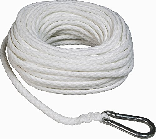 SeaSense Hollow Braid Anchor Line Polypropylene, 1/4-Inch X 50-Foot