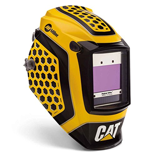 Miller 281006 Digital Elite Welding Helmet with ClearLight Lens, CAT (Best Welding Helmet On The Market)