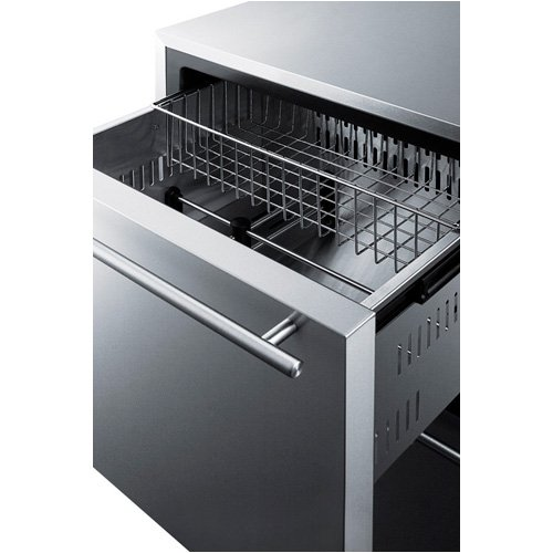 Summit FF642D Drawer Refrigerator, Stainless Steel by Summit (Image #2)'