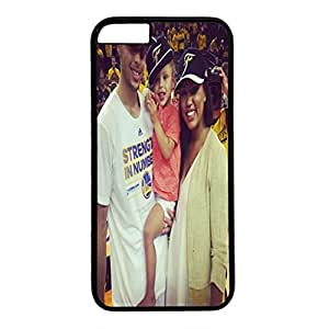 Iphone 6 plus plus Case, Iphone 6 plus plus black case, Hard PC Iphone 6 plus plus Protective Case for Ultimate Protect Iphone 6 plus plus Design with Stephen Curry and His Adorable Family Stephen Curry, Ayesha Curry, Riley Curry