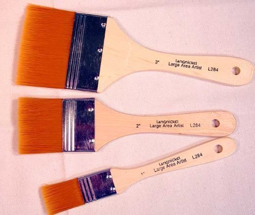 3-large-area-gold-taklon-paint-brushes-great-for-acrylics-stains-more